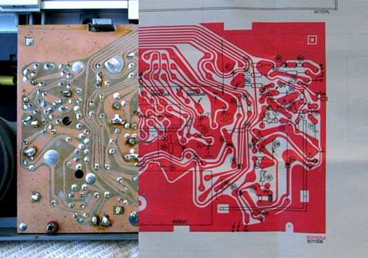 data sheet and PCB