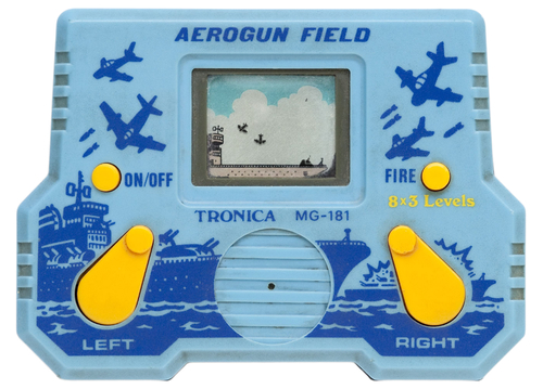 Aerogun Field handheld game