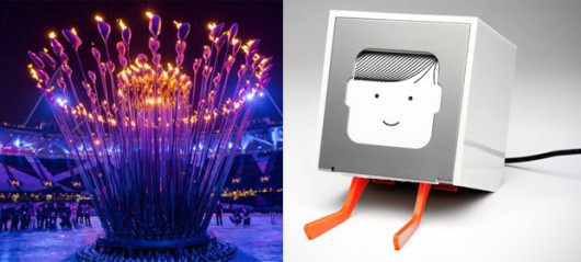 The Olympic Cauldron vs Little Printer. Which would you rather have in your kitchen?